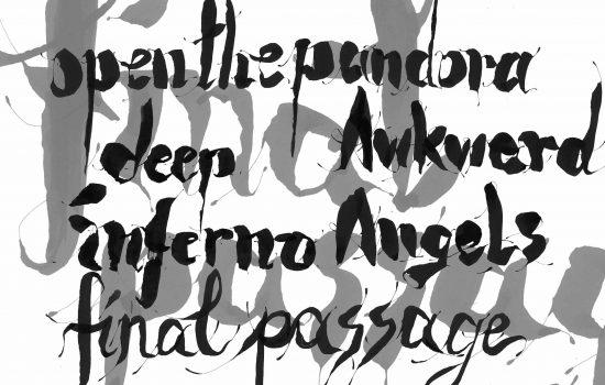 LETTERING Kunstvolle Kalligraphie